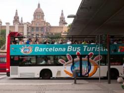 Barcelona Stadtrundfahrt mit Touristik Bus