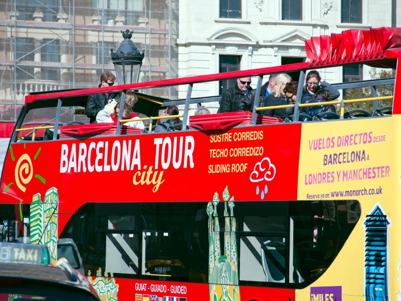 Stadtrundfahrt in Barcelona