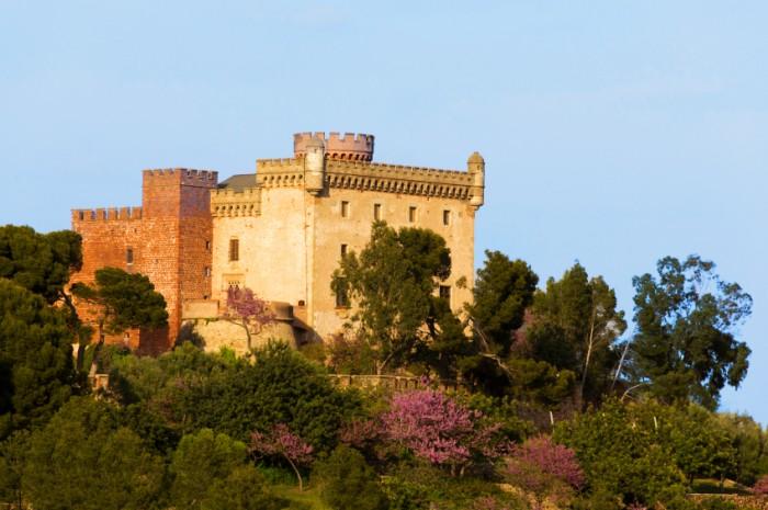 Castelldefels in Spanien