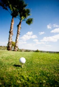 Sonne satt: Golfen in Barcelona