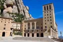 Monastery im Berg Montserrat