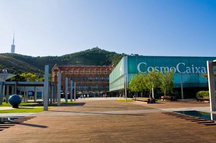 Museum Cosmo Caixa in Barcelona