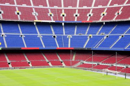 Nou Camp Stadion in Barcelona