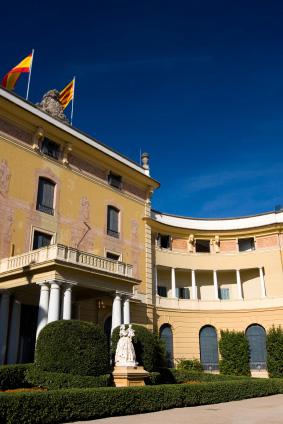 Palau Reial de Pedralbes in Barcelona