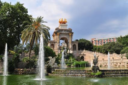 Parc Ciutadella - Parkanlage in Barcelona