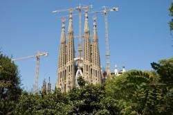 Sagrada Familia Kirche in Barcelona