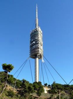 Torre Collserola - Barcelonas Fernsehturm