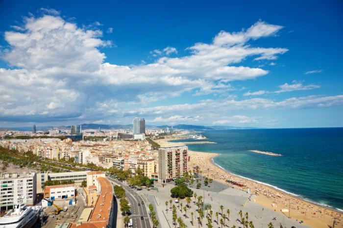Perfekte Reisemonate an die Küste von Barcelona